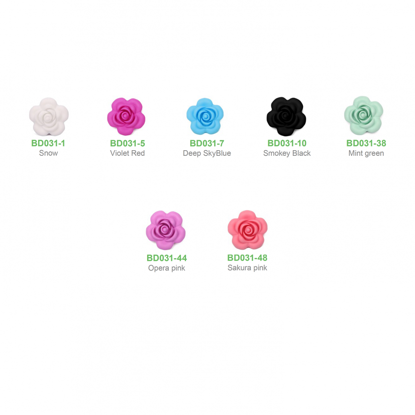 Beads BD031 flowers
