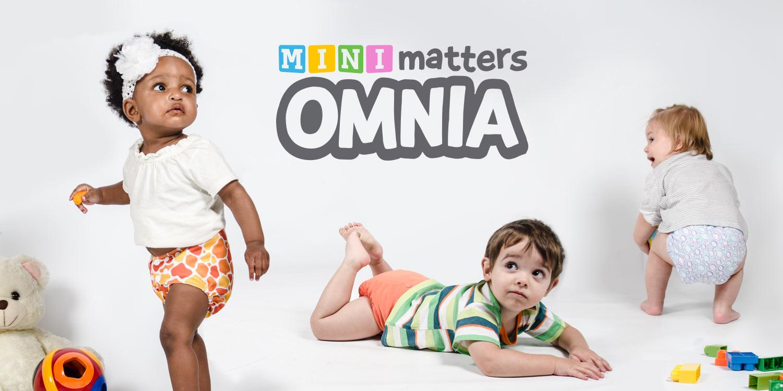 Mini Matters Omnia Snap-In-One Diaper